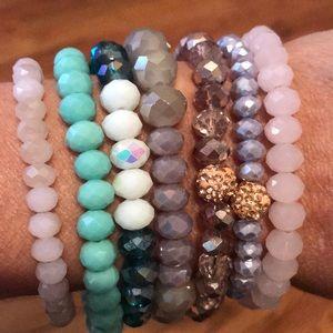 Erimish bracelets.   All 6 + 1.